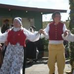 Folkdanslaget var på plats som vanligt