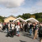 Många kom och besökte Slottsskogskolonien på den årliga Skördefesten.